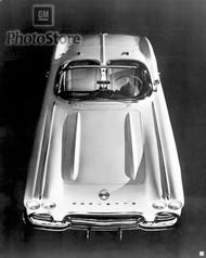 1962 Chevrolet Corvette Convertible Poster