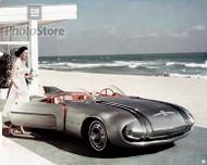 1956 Pontiac Club de Mer Show Car Poster