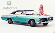 1967 Buick Skylark GS Coupe Poster