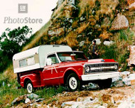 1970 Chevy C-10 Stepside Pickup Poster