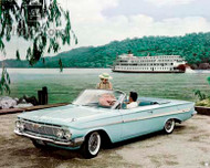 1961 Chevrolet Impala Convertible Poster
