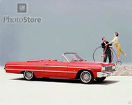 1964 Chevrolet Impala Convertible Poster