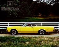 1972 Chevrolet El Camino SS Sedan Pickup Poster