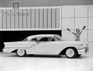 1957 Oldsmobile 88 Holiday Coupe Poster