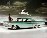 1958 Chevrolet Bel Air Impala Coupe II Poster