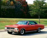 1966 Chevrolet Chevelle SS 396 Show Car Poster