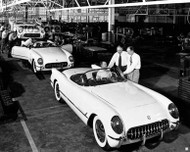 1953 Chevrolet Corvette Final Assembly