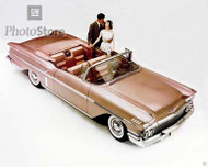 1958 Chevrolet Bel Air Impala Poster