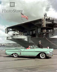 1958 Chevrolet Bel Air Impala II Poster