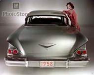 1958 Chevrolet Biscayne 4-Door Sedan Poster