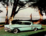 1958 Chevrolet Bel Air Impala Sport Coupe Poster