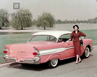 1957 Pontiac Super Chief Catalina Coupe Poster