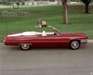 1969 Cadillac DeVille Convertible Poster
