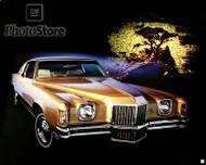 1971 Pontiac Grand Prix Hardtop Coupe Poster