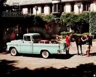 1958 GMC Suburban Pickup Truck Poster