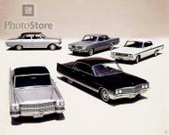 1960s GM Models Poster