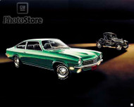 1972 Chevrolet Vega Coupe Artwork Poster