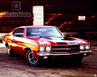 1970 Chevrolet Chevelle SS 396 Coupe Poster