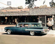 1960 Chevrolet Nomad Wagon Poster