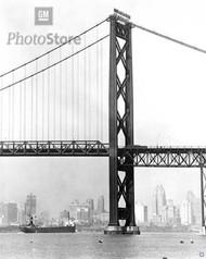 1956 Ambassador Bridge - South Tower Poster