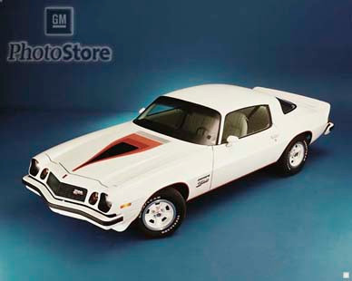 1977 1/2 Chevrolet Camaro Z28 Coupe Poster