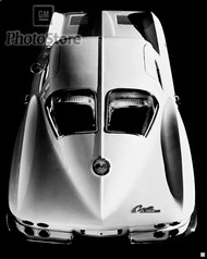 1963 Chevrolet Corvette Sting Ray Coupe II Poster