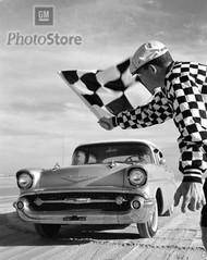1957 Chevrolet Bel Air 4-Door Sedan Poster