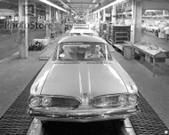 1961 Pontiac Tempest On Assembly Line Poster