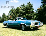 1971 Oldsmobile 442 Convertible Poster