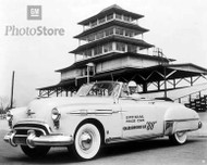 1949 Oldsmobile 88 Convertible Pace Car Poster