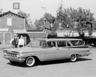 1959 Chevrolet Brookwood Station Wagon Poster