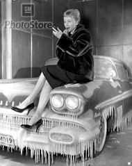 1958 Pontiac Bonneville Sport Coupe Poster