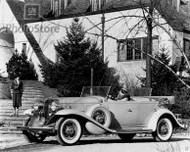 1932 Cadillac Series 370-B Sport Phaeton Poster