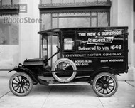 1922 Chevy 490 Light Delivery Panel Poster