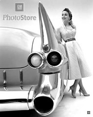 1955 Cadillac Eldorado Convertible Poster