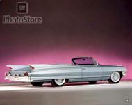 1961 Cadillac Eldorado Biarritz Convertible Poster