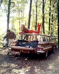 1960 Chevrolet Nomad 6 Passenger Station Wagon Poster
