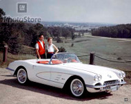 1959 Chevrolet Corvette Convertible Poster