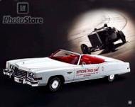 1973 Cadillac Fleetwood Eldorado Convertible Indy 500 Poster