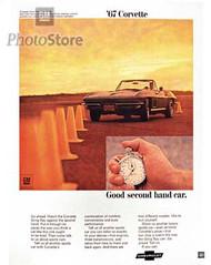 1967 Chevrolet Corvette Sting Ray Convertible Poster