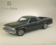 1978 Chevrolet El Camino Black Knight Poster
