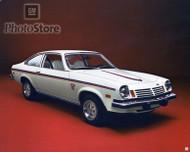 """1974 Chevrolet Vega """"Spirit of America"""" Hatchback Coupe Poster"""