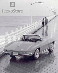 1965 Chevrolet Corvette Sting Ray II Poster