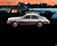1984 Cadillac Seville 4-Door Sedan Poster