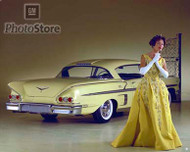 1958 Chevrolet Impala 2-Door Coupe Poster