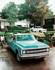 1970 Chevy C-10 Fleetside Pickup Poster