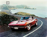 1967 Chevrolet Corvette Sting Ray Coupe Poster