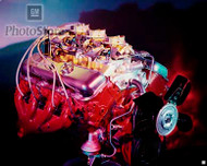 1967 Chevrolet Corvette L71 Engine Poster