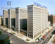 General Motors Building in the 1980s Poster
