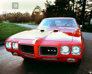 1970 Pontiac GTO Hardtop Coupe Poster